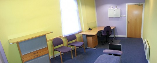 Medical consulting room rental in Derby city centre