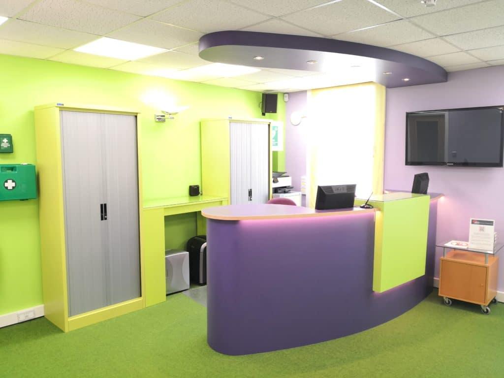 WellBeing Clinics reception