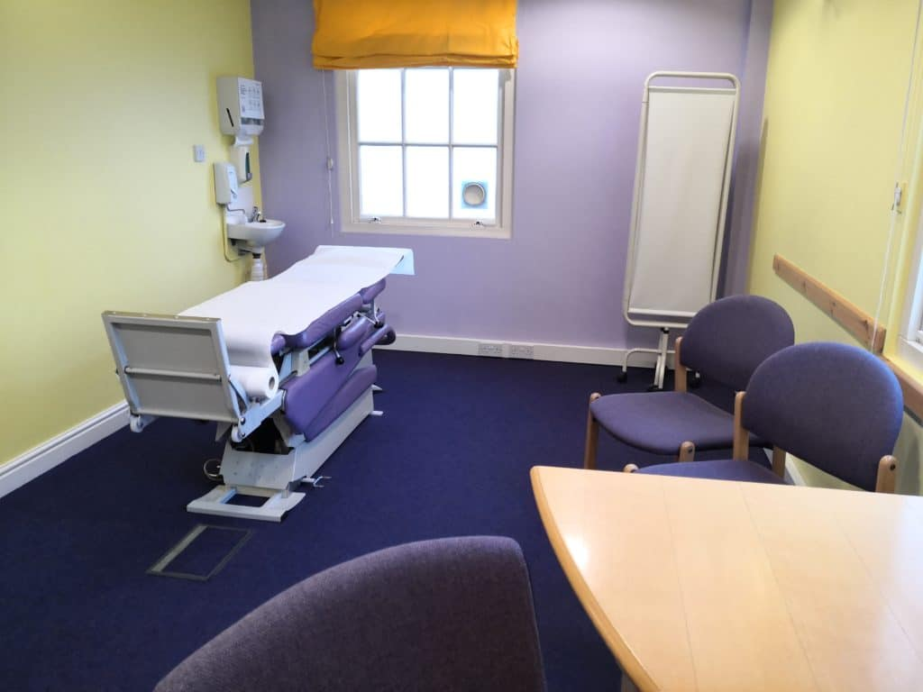 Room rental for private surgeons in Derby