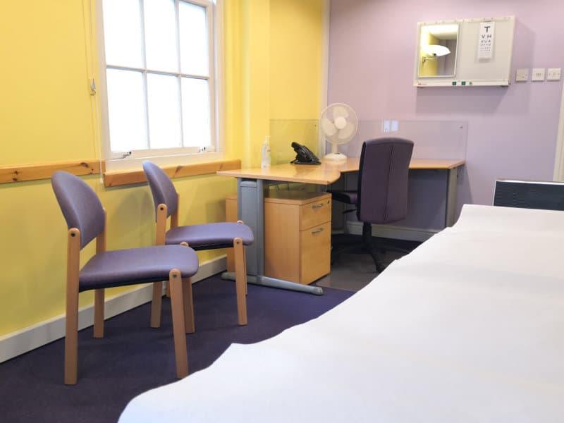 Medico legal room hire in Derby