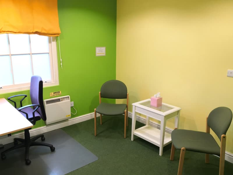 Psychotherapy cbt and counselling room hire in Derby