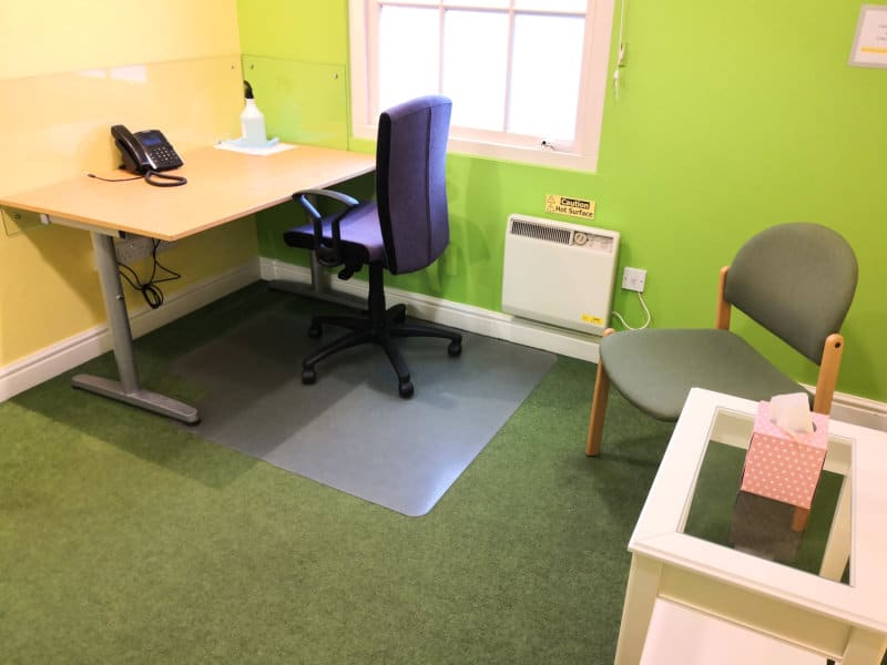 Room rental for psychotherapy counselling cbt in derby