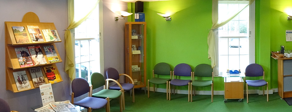 Central Derby Chiropractic clinic - purpose built and modern